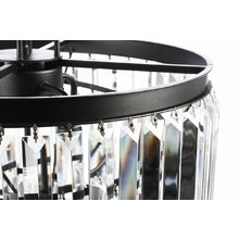 Подвесной светильник Shine с каскадом из хрусталя