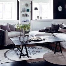 Фотография: Гостиная в стиле Скандинавский, Декор интерьера, Мебель и свет, Декор дома – фото на InMyRoom.ru