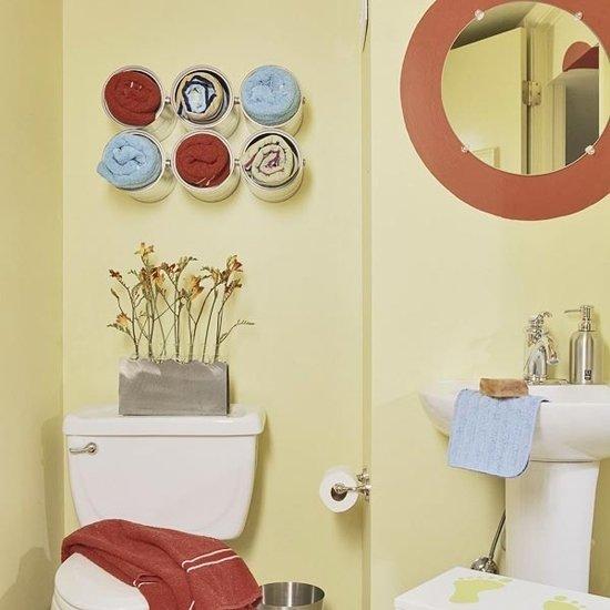 Фотография: Декор в стиле Эклектика, Ванная, Декор интерьера, DIY, Декор дома, Советы – фото на InMyRoom.ru