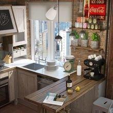 Фотография: Кухня и столовая в стиле Лофт – фото на InMyRoom.ru