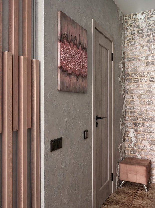 Фотография: Прихожая в стиле Современный, Лофт, Малогабаритная квартира, Квартира, Студия, Проект недели, Москва, до 40 метров, Дина Удальцова – фото на INMYROOM