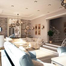 Фото из портфолио Гостиная в пансионате – фотографии дизайна интерьеров на INMYROOM