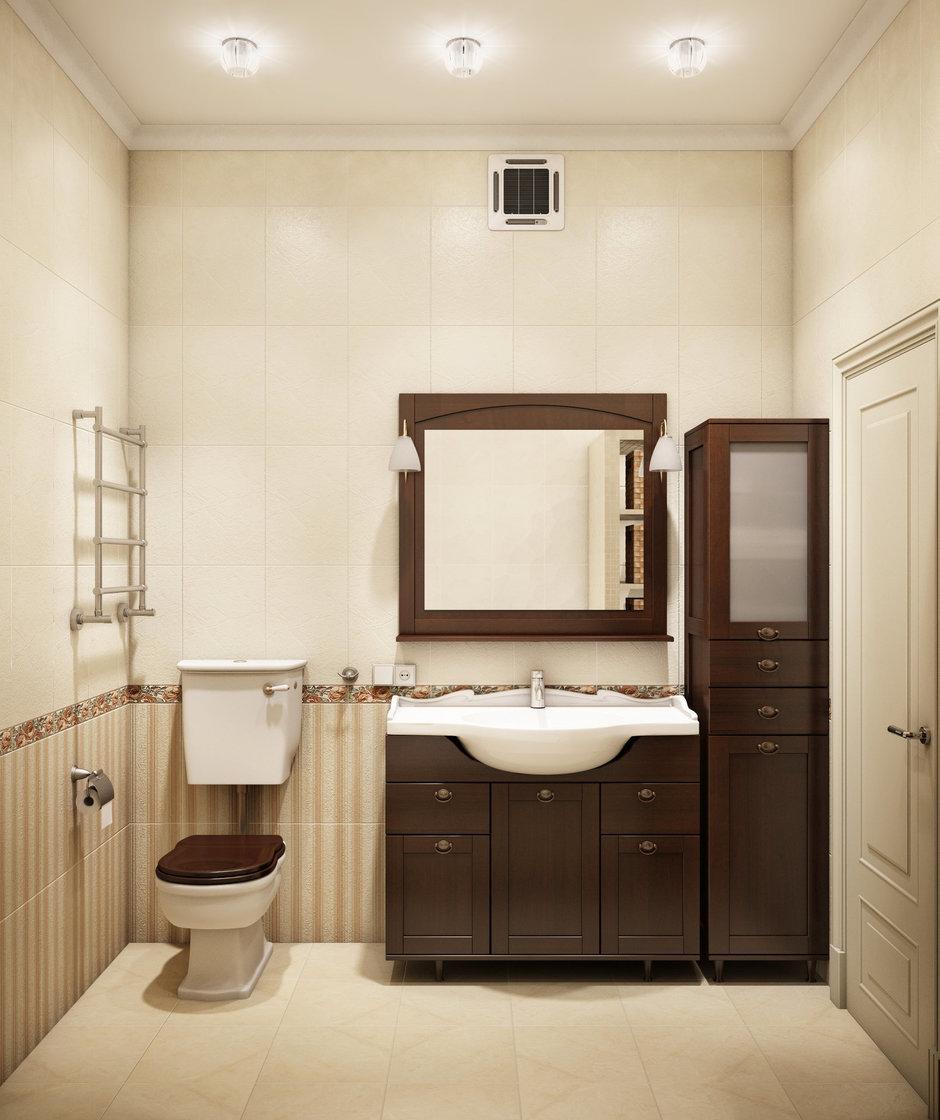 Фотография: Ванная в стиле Прованс и Кантри, Классический, Квартира, Проект недели – фото на InMyRoom.ru