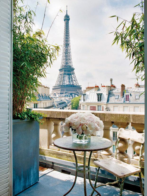 Фотография: Балкон в стиле Прованс и Кантри, Декор интерьера, Франция, Париж – фото на INMYROOM