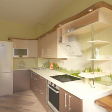 Фото из портфолио Зеленая лужайка – фотографии дизайна интерьеров на InMyRoom.ru