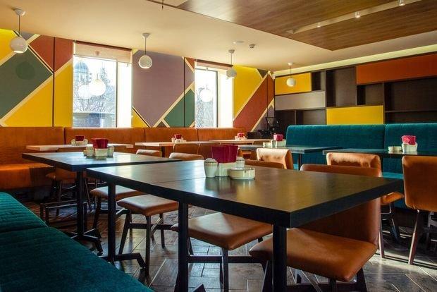 Фото из портфолио Кафе Винегрет – фотографии дизайна интерьеров на INMYROOM