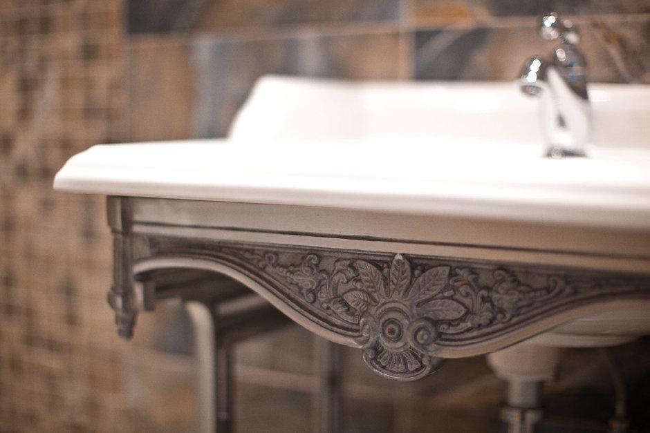 Фотография: Ванная в стиле Скандинавский, Эклектика, Квартира, Проект недели – фото на InMyRoom.ru