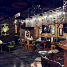 Фото из портфолио Мясной ресторан – фотографии дизайна интерьеров на INMYROOM