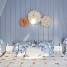 Фотография: Спальня в стиле Кантри, Дом, Проект недели, Женя Жданова, Дом и дача – фото на InMyRoom.ru