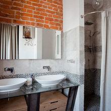 Фотография: Ванная в стиле Лофт, Квартира, Проект недели – фото на InMyRoom.ru