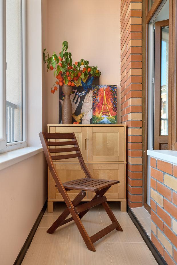 Фотография: Балкон в стиле Прованс и Кантри, Квартира, Проект недели, Красногорск, 3 комнаты, 60-90 метров, Более 90 метров, Евгения Ивлиева – фото на INMYROOM