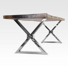 Обеденный стол Three curved lines-Natural