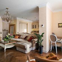 Фотография: Гостиная в стиле Классический, Квартира, Проект недели – фото на InMyRoom.ru
