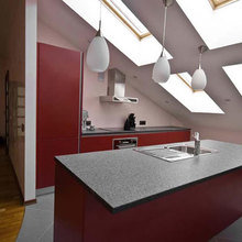 Фото из портфолио Дизайн интерьера квартиры на мансарде в Риге – фотографии дизайна интерьеров на InMyRoom.ru