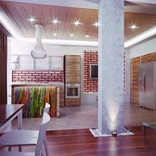 Фото из портфолио Tri-level penthouse in Kyiv – фотографии дизайна интерьеров на INMYROOM