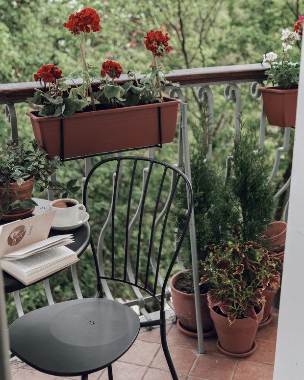 Фотография: Балкон в стиле Скандинавский, Проект недели – фото на INMYROOM