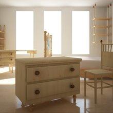 """Фото из портфолио Сет мебели для """"карельской сосны"""" – фотографии дизайна интерьеров на INMYROOM"""