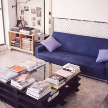 Фото из портфолио Индустриальный ЛОФТ с террасой в центре Токио – фотографии дизайна интерьеров на INMYROOM