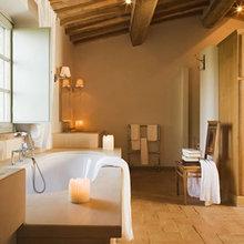 Фотография: Ванная в стиле Кантри, Италия, Дома и квартиры, Городские места, Отель, Прованс – фото на InMyRoom.ru