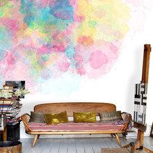 Фотография: Гостиная в стиле Скандинавский, Декор интерьера, Декор дома, Стена – фото на InMyRoom.ru