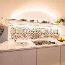 Фото из портфолио 11 квадратных метров для итальянского художника – фотографии дизайна интерьеров на INMYROOM