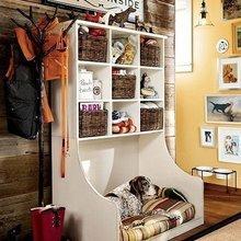 Фотография: Прихожая в стиле Кантри, Малогабаритная квартира, Квартира, Дома и квартиры – фото на InMyRoom.ru