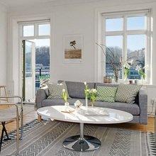Фотография: Гостиная в стиле Скандинавский, Декор интерьера, Малогабаритная квартира, Квартира, Дома и квартиры – фото на InMyRoom.ru