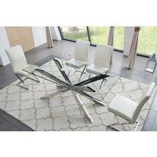 Обеденный Стол на металлическом каркасе