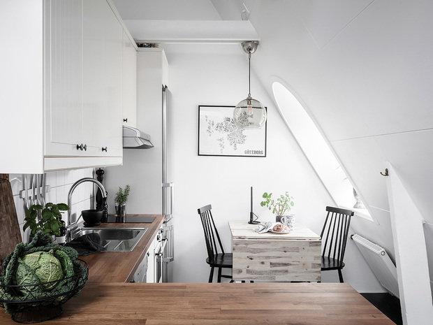 Фотография: Кухня и столовая в стиле Скандинавский, Стокгольм, Гид, скандинавский интерьер, как создать уютную атмосферу – фото на INMYROOM
