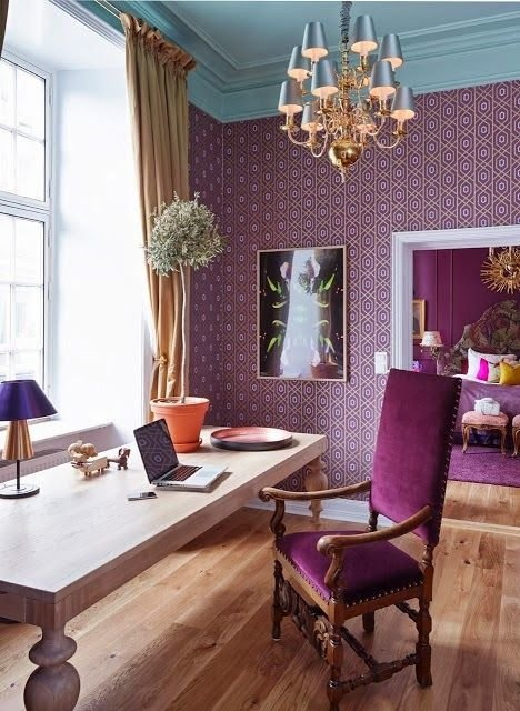 Фотография: Офис в стиле Прованс и Кантри, Современный, Декор интерьера, Дизайн интерьера, Цвет в интерьере – фото на InMyRoom.ru