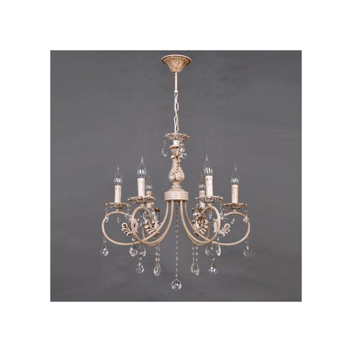 Подвесная люстра Elvan   в виде свечей с подвесками