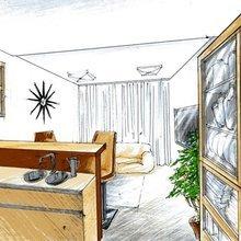 Фото из портфолио эскизы для проектов – фотографии дизайна интерьеров на INMYROOM