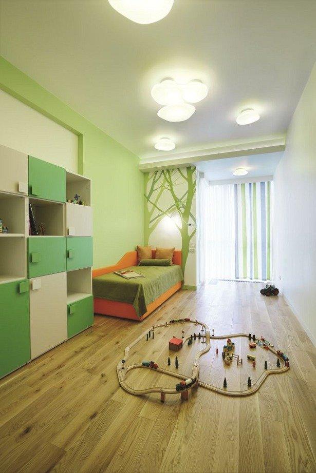 Фотография: Детская в стиле Современный, Квартира, Дома и квартиры, Проект недели, Перепланировка – фото на InMyRoom.ru