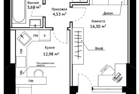 Ищу дизайнера интерьера для своей квартиры 40,5 м2