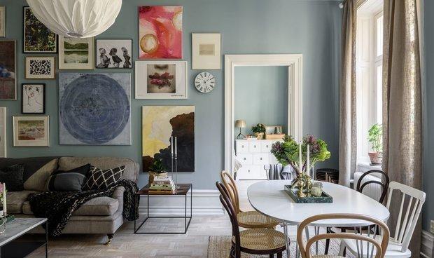 Двухкомнатная квартира в Швеции