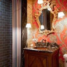 Фотография: Ванная в стиле Кантри, Современный, Эклектика, Декор интерьера, Декор дома, Ковер – фото на InMyRoom.ru