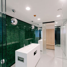 Фото из портфолио Интерьер банка СИАБ – фотографии дизайна интерьеров на INMYROOM