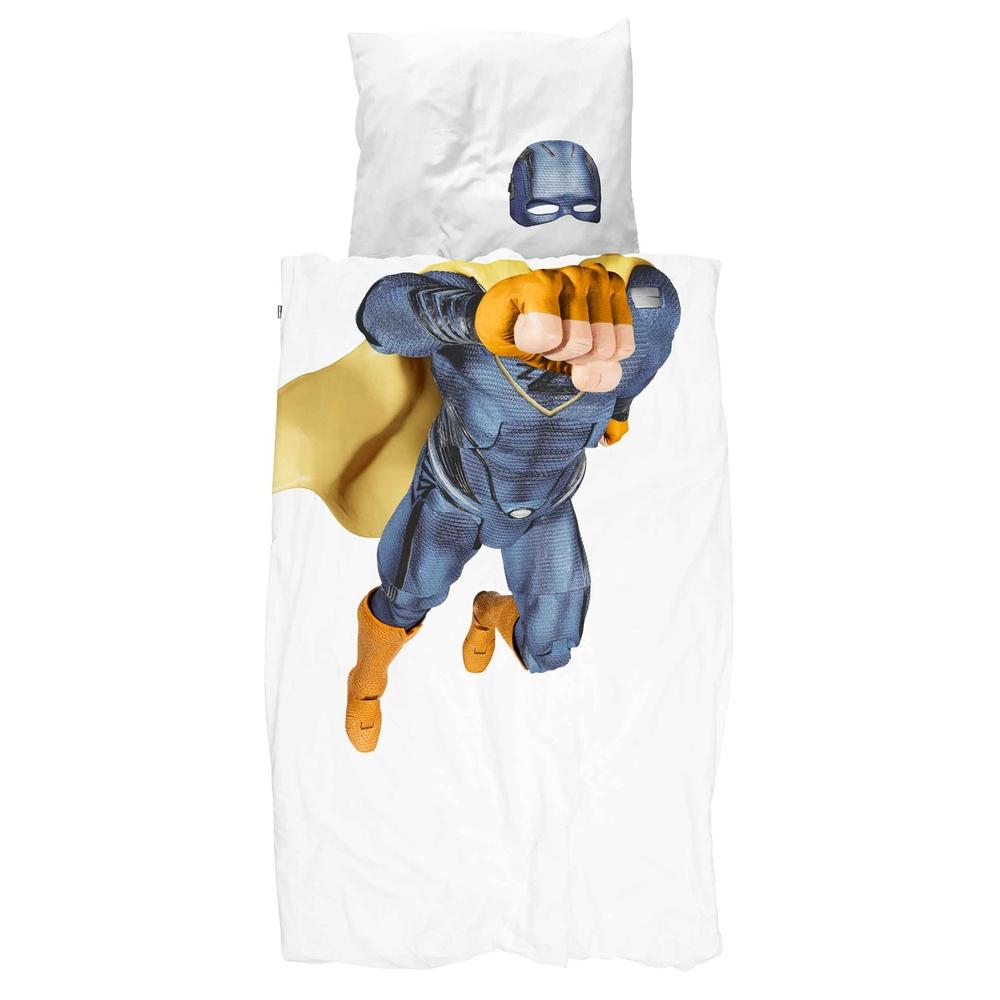 Комплект постельного белья супергерой 150х200