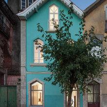 Фотография: Архитектура в стиле Кантри, Декор интерьера, Дом, Цвет в интерьере, Дома и квартиры, Белый – фото на InMyRoom.ru