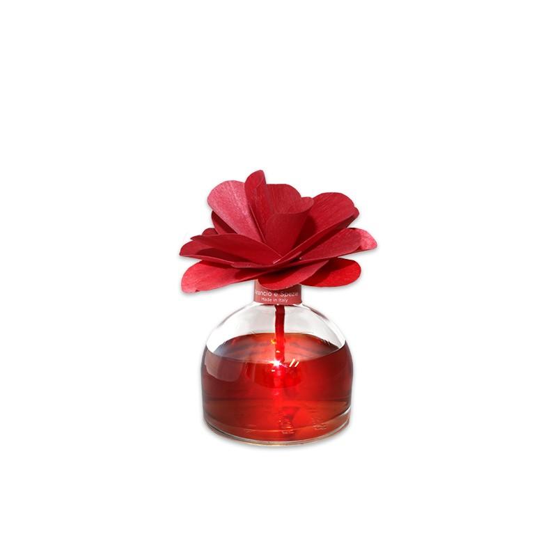 Купить Апельсин и итальянские специи ароматический диффузор с цветком 200 мл, inmyroom, Италия