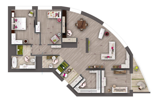 Фотография: Архитектура в стиле , Классический, Квартира, Проект недели, Москва, Бежевый – фото на InMyRoom.ru