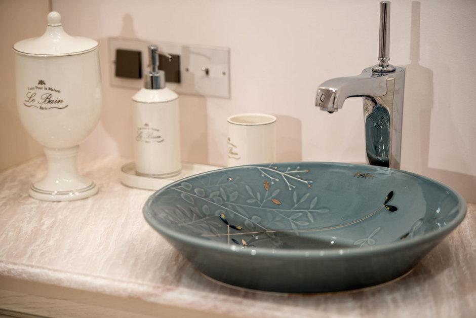 Фотография: Ванная в стиле Классический, Квартира, Проект недели, Москва, Виктория Киорсак, 4 и больше, Более 90 метров – фото на InMyRoom.ru