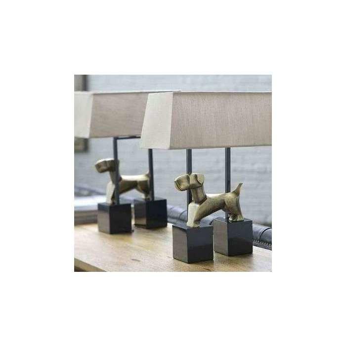 Сет из 2-х настольных ламп Doggie Lamp