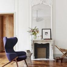 Фото из портфолио Элегантная квартира в Париже с архитектурными деталями – фотографии дизайна интерьеров на InMyRoom.ru