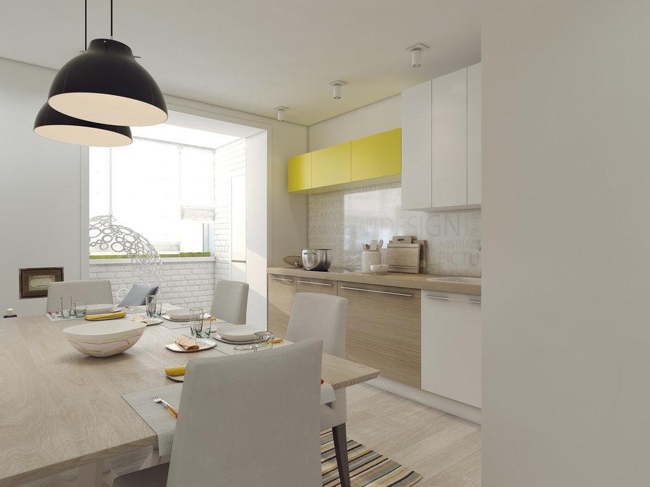 Фотография: Кухня и столовая в стиле Скандинавский, Современный, Квартира, Дома и квартиры, IKEA, Проект недели – фото на InMyRoom.ru