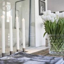 Фотография: Декор в стиле , Скандинавский, Декор интерьера, Малогабаритная квартира, Квартира, Швеция, Цвет в интерьере, Дома и квартиры, Белый – фото на InMyRoom.ru