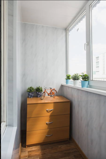 Фотография: Балкон в стиле Минимализм,  – фото на INMYROOM