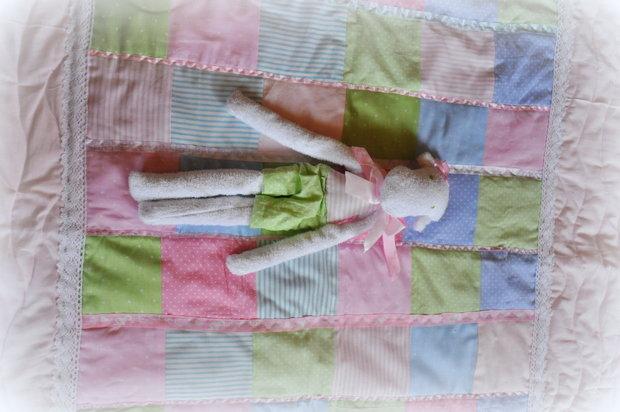 Лоскутное одеялко для детской