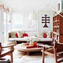 Фотография: Гостиная в стиле Восточный, Эко, Малогабаритная квартира, Интерьер комнат – фото на InMyRoom.ru