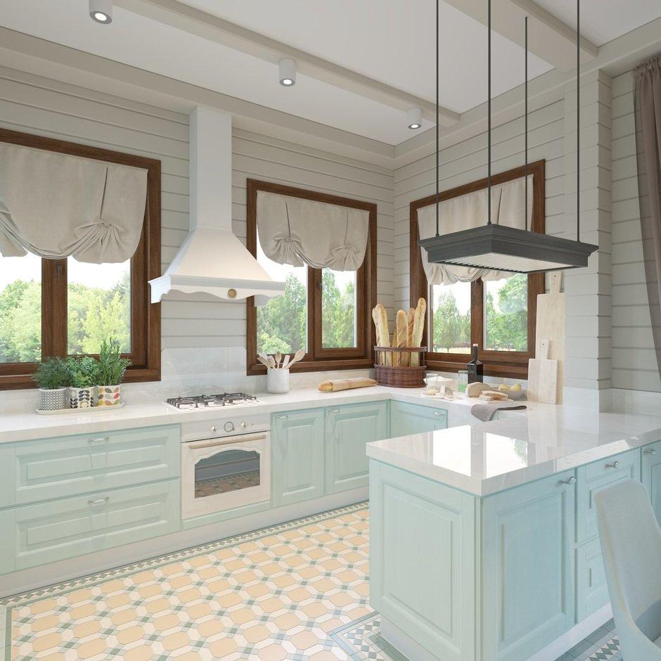 Фотография: Кухня и столовая в стиле Прованс и Кантри, Дом, Проект недели, Дом и дача – фото на InMyRoom.ru
